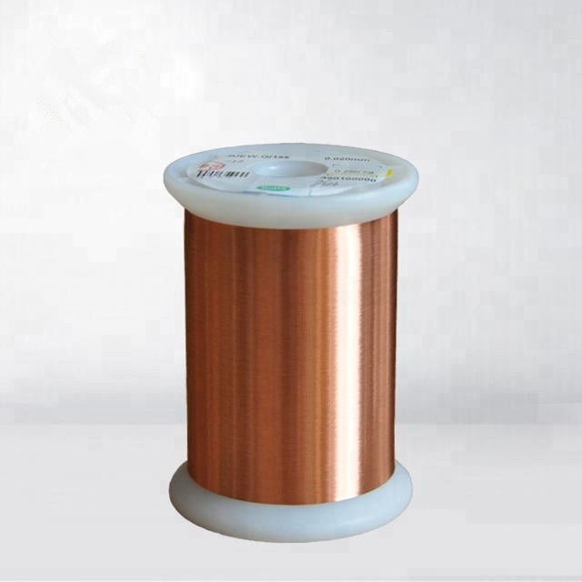 Round Enamelled Self Bonding Wire Thin Magnet Copper Wire For Senior Watch Coil