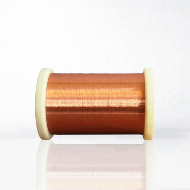 Solderable Enamelled Copper Wire UEW 155 0.02mm Copper Magnet Winding Wire
