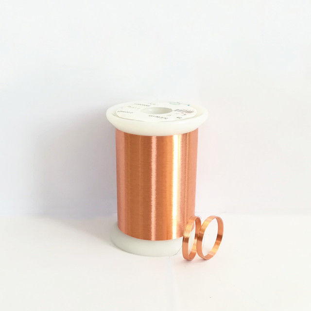 CLASS 155 / 180 / 220 Self Bonding Wire Enamelled Copper Winding Wire For Voice Coil