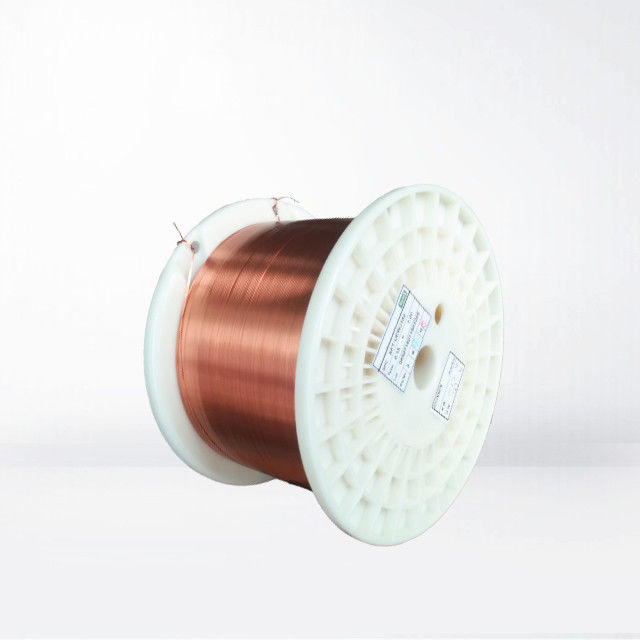 0.155-7.5mm Ultra Fine Rectangular Enameled Copper Wire Self Bonding Wire For Small Generator