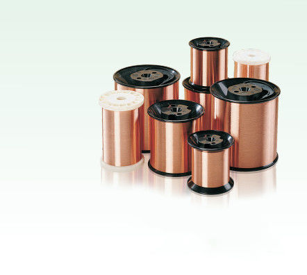 Good Performance Enamelled Copper Wire Insulated Winding Wire For High Speed Automated Routing