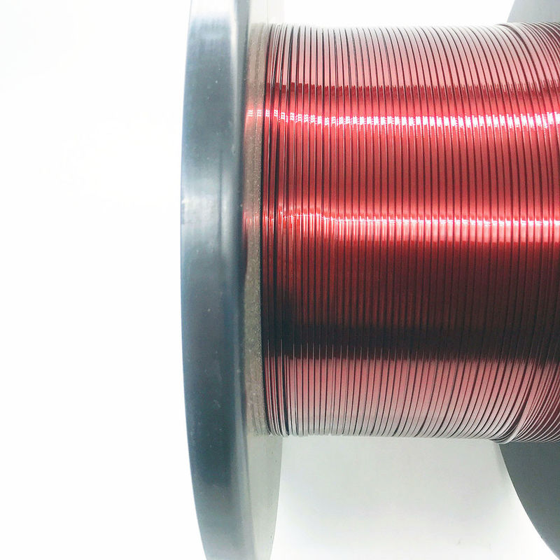 Stable Performance Enamel Covered Copper Wire700V Breakdown Voltage 2.2mm * 0.9mm