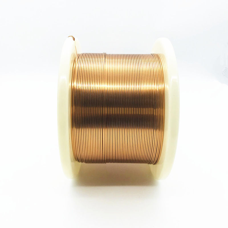Copper 1.2mm X 0.12mm Flat Enameled Winding Wire